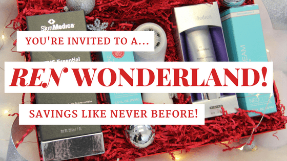 Kick off your holiday season at REN Wonderland!
