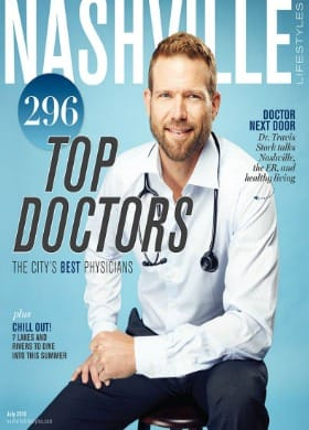 2016 Top Docs, Nashville Lifestyles