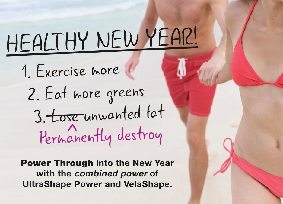 UltraShapePower+VelaShape-HealthyNewYear-Beach-Facebook Timeline
